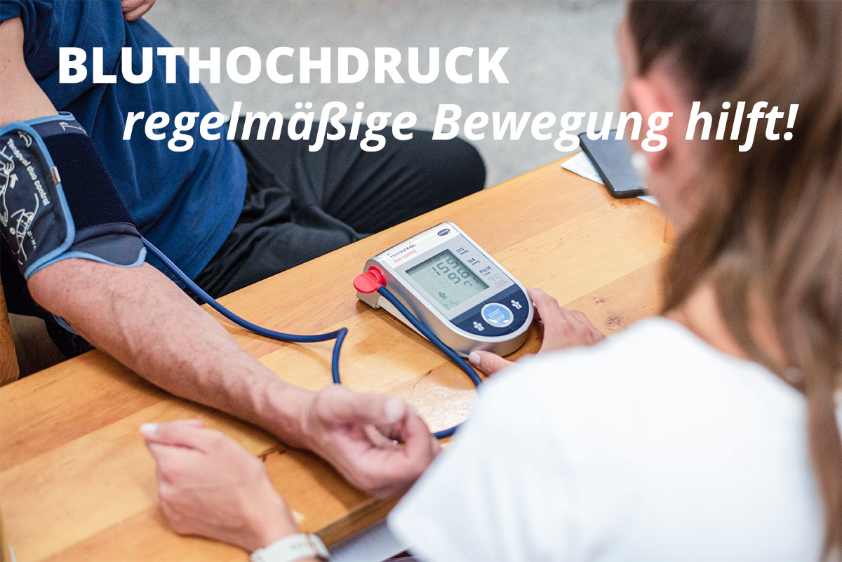 Bewegung bei Bluthochdruck - Gesundheitszentrum Schweitzer